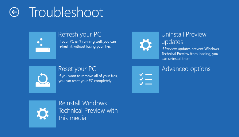 and Restore A System Image in Windows 8.1 and 10 Next of Windows